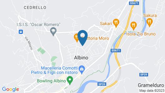 La Ripa Boutique Hotel Map