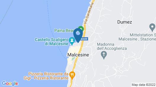 Hotel Castello Lake Front Map