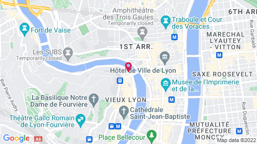 Le Phenix Hotel Map