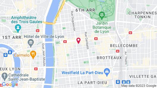 Hôtel Le Roosevelt Map