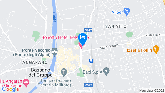 Hotel Brennero Map