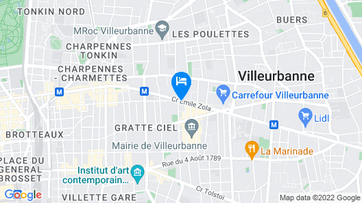 Hotel Ariana Map