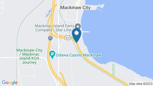 Fairview Beachfront Inn & Waterpark Map