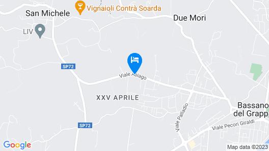 Hotel Positano Map