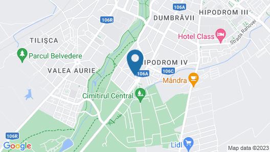 VILA ALFA DUMBRAVA Map