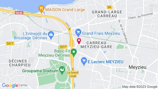 KYRIAD LYON EST - Stadium - Eurexpo Map