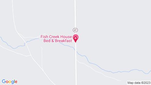 Fish Creek House Bed & Breakfast Map
