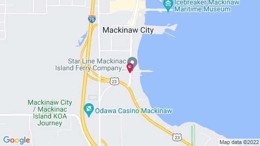 Days Inn by Wyndham Mackinaw City - Lakeview Map