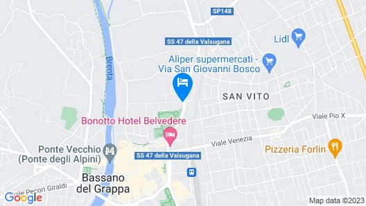 Villa Tra' Monti Map