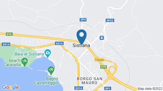 Villa Sistiana The Best in Town Map