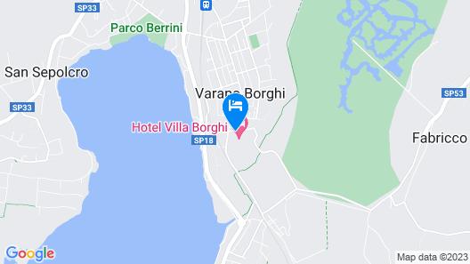 Hotel Villa Borghi Map
