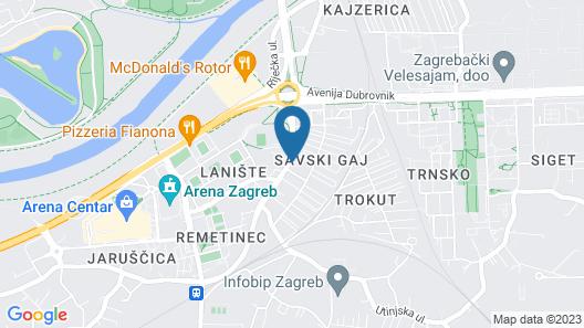 Hotel Sundial Map