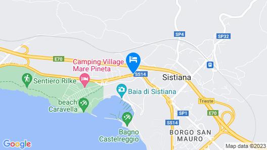 Hotel Ai Sette Nani Map