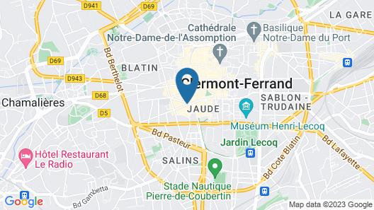 Apparthotel Privilodges Carré de Jaude Map