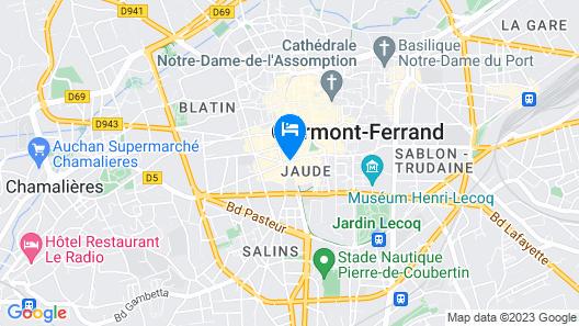 Mercure Clermont Ferrand Centre Jaude Map