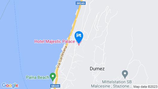 Hotel Majestic Palace Map