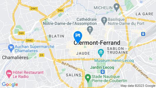 Hôtel Le Lion Map