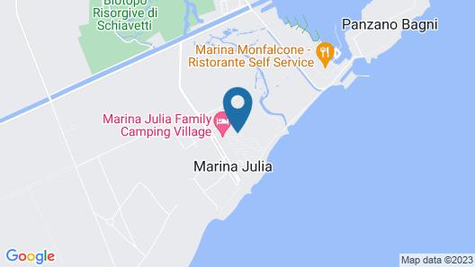 Marina Julia Family Camping Village Map