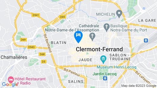 Citotel Dav'hotel Jaude Map