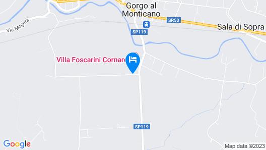 Villa Revedin Map