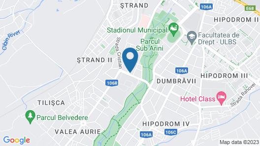 Hotel Gallant Map