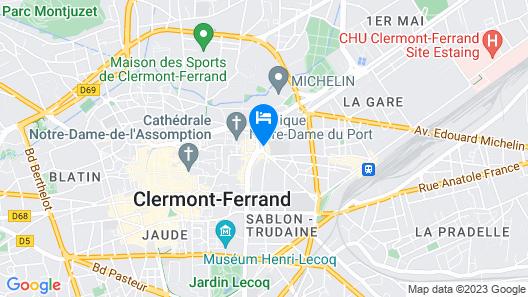 Best Western Plus Hotel Litteraire Alexandre Vialatte Map