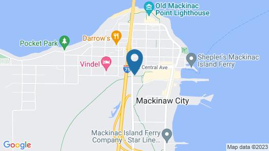 Baymont by Wyndham Mackinaw City Map