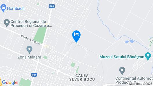 Forest Apartment Timisoara Map