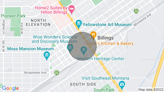 Private Modern Luxury Loft Downtown #2 Map