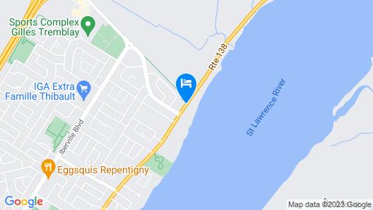 Au Doc Motel Map