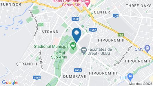 Hotel Parc Sibiu Map