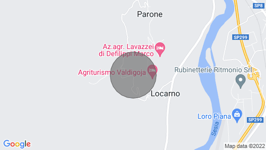 Il Taragn Chalet Indipendente Map