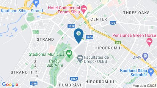 Golden Tulip Ana Tower Sibiu Map
