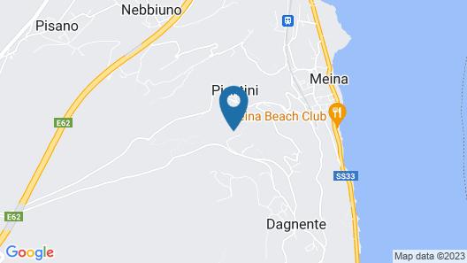 Lake Maggiore View Apartment Map