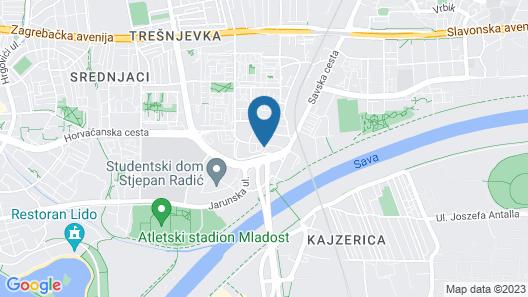 Apartment Flores Map