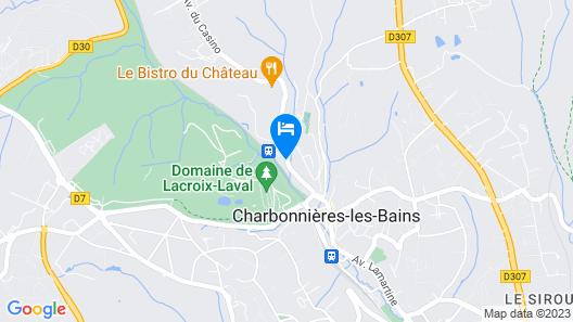 Pavillon De La Rotonde Map