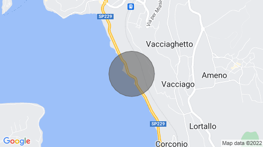 2 Bedroom Accommodation in Orta San Giulio NO Map