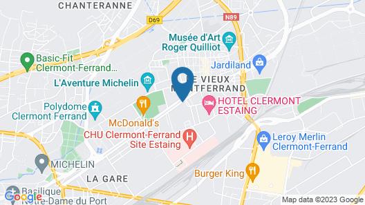 Residhome Clermont Ferrand Gergovia Map