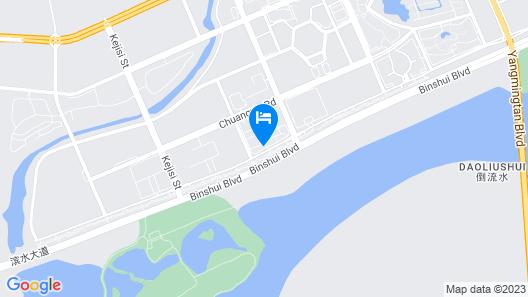Holiday Inn Express Harbin Songbei New District, an IHG Hotel Map