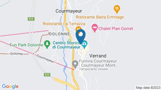 Maison Saint Jean Map