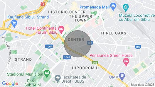 Sibiu Central Studio Map