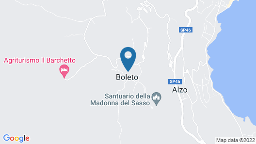 Hotel Panoramico Map