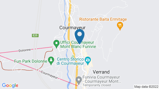 Hotel Lo Scoiattolo Map