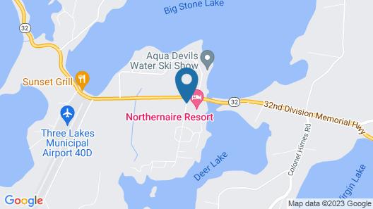 Northernaire Resort Map