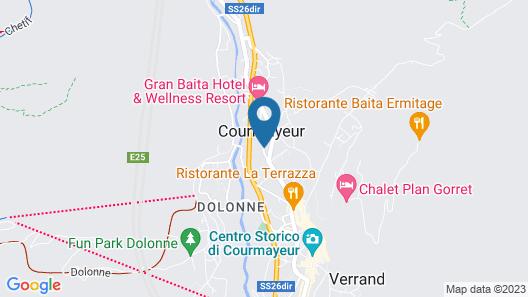 Villa Novecento Romantic Hotel Map