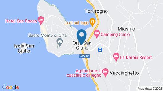 Relais & Chateaux Villa Crespi Map