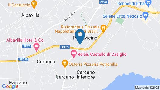 Hotel Castello Di Casiglio Map
