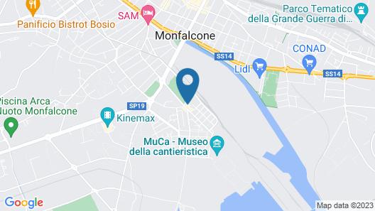 Hotel Ristorante ai Campi Di Marcello Map
