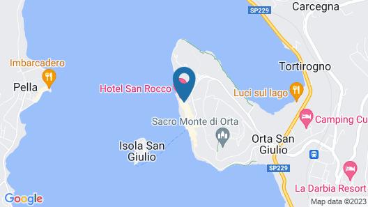 Hotel San Rocco Map