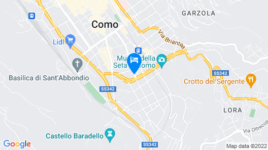 Hotel Como Map